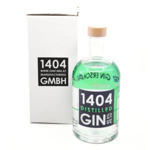 1404 Herzbergland Dry Gin + GB 42,5% Vol. 0,2l Gin 1404