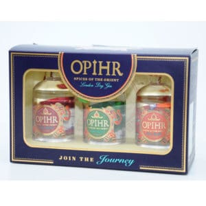 Opihr SPICES OF THE ORIENT + GB 43% Vol. 3×0,05l Gin Gin