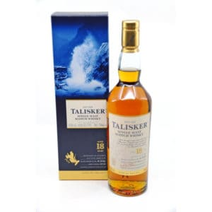Talisker 18 Years Old + GB 45,8% Vol. 0,7l Whisk(e)y Isle of Skye