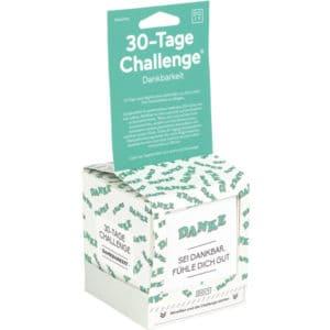 30 Tage-Challenge DANKBARKEIT Bücher 30 Tage-Challenge