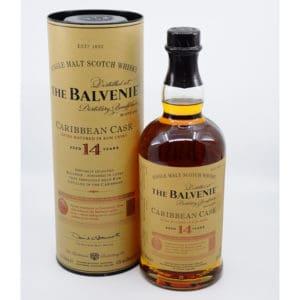 The Balvenie 14y Caribbean Cask + GB 43% Vol. 0,7l Whisk(e)y Schottland