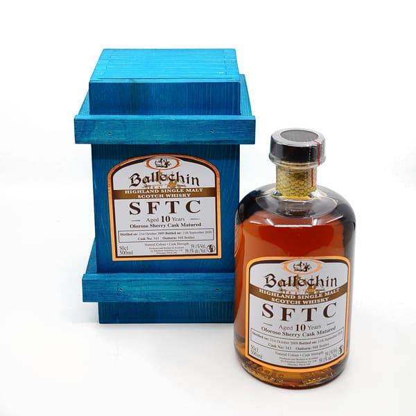 Edradour Ballechin 10y SFTC Oloroso Sherry Cask + GB 59,1% Vol. 0,5l Raritäten Scotch