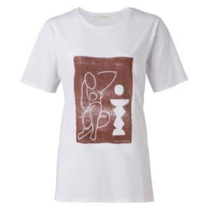 T-Shirt mit Druck Für SIE Jersey