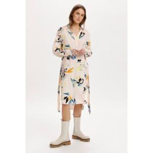 Kleid Blumenmuster Kleider Kleid