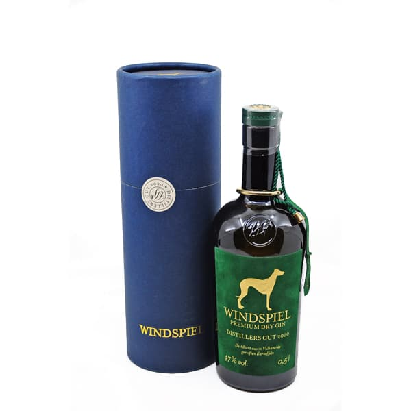 Windspiel Distiller's Cut 2020 + GB 47% Vol. 0,5l Gin Distiller's Cut