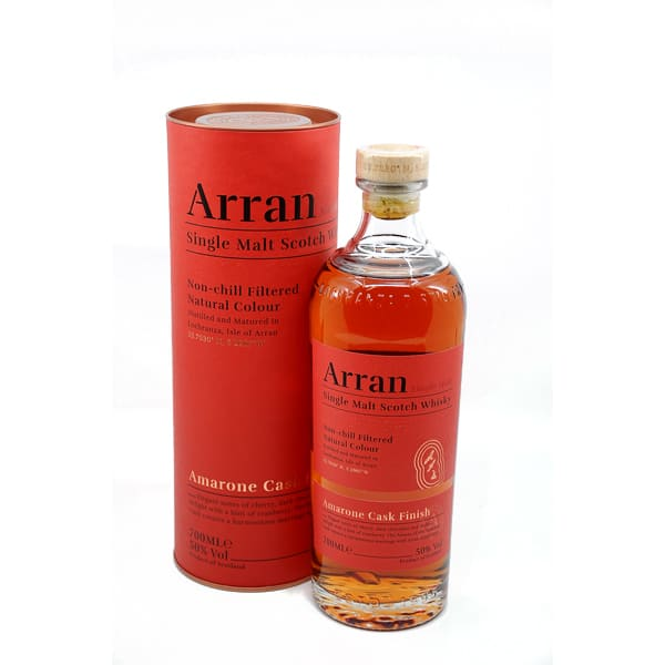 The Arran Malt Amarone Cask Finish + GB 50% Vol. 0,7l Whisk(e)y Ilse of Arran