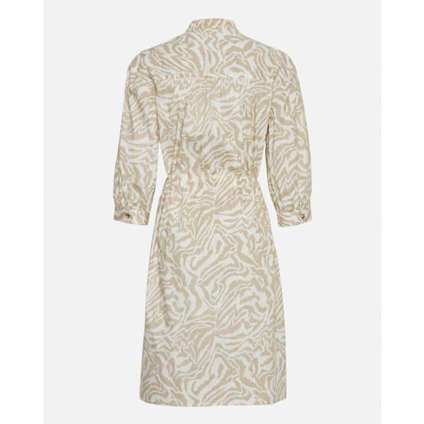 Moss Copenhagen Kleid mit Leo-Muster Kleider Dress