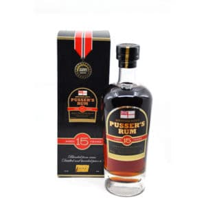 Pusser's British Navy Rum 15y + GB 40% Vol. 0,7l Rum Rhon