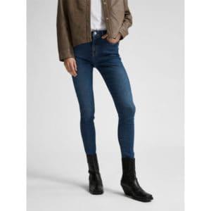 Mid Waist Skinny-Fit Jeans Hosen Bio-Baumwolle