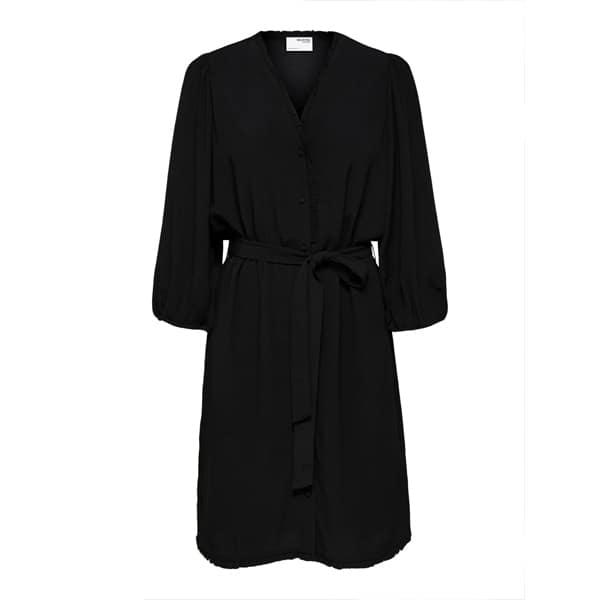 Button-Down Gürtel Kleid Kleider Kleid