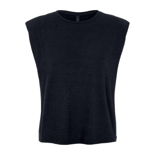 Y.A.S. Top mit Schulterpolstern schwarz T-Shirt & Tops für SIE Y.A.S.