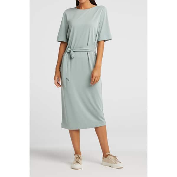 Jersey Kleid mit Gürtel Kleider Jersey