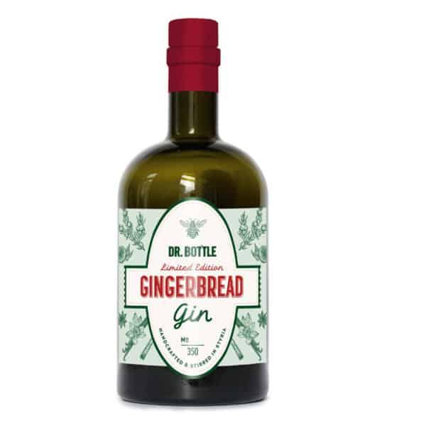 Gingerbread Gin 42,2% Vol. 0,5l Geschenksideen DR.BOTTLE Gin