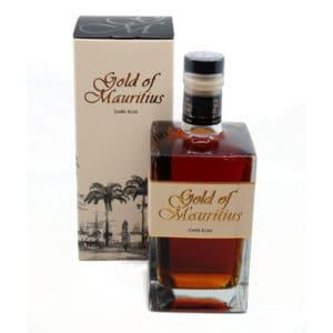 Gold of Mauritius Dark Rum + GB 40,0% Vol. 0,7l Rum Gold of Mauritius