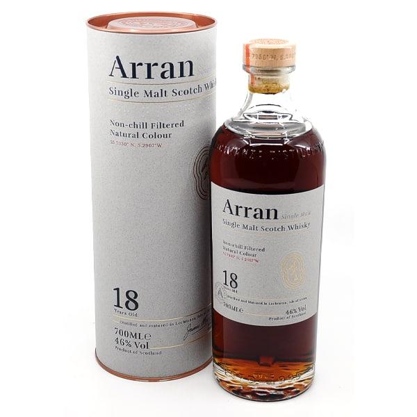 The Arran Malt 18y + GB 46% Vol. 0,7l