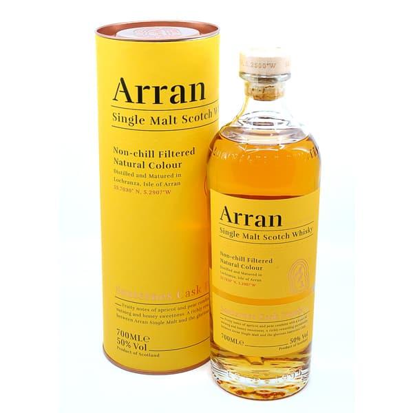 The Arran Malt THE SAUTERNES CASK FINISH + GB 50% Vol. 0,7