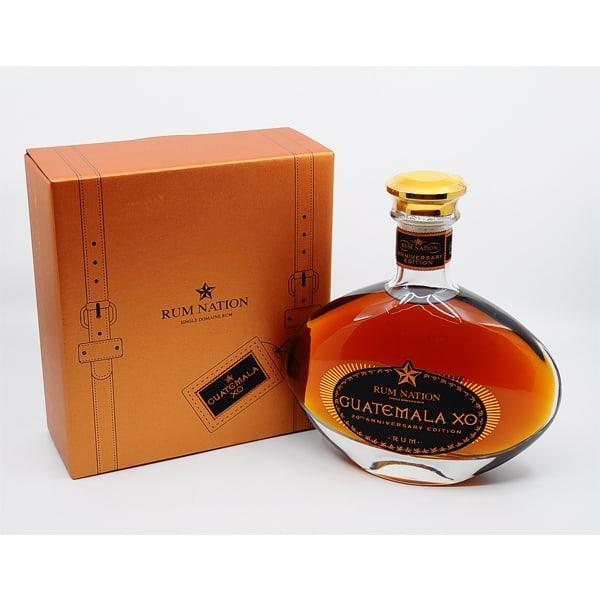 Rum Nation Guatemala XO 20th Anniversary + GB 40% Vol. 0,7l Raritäten Guatemala