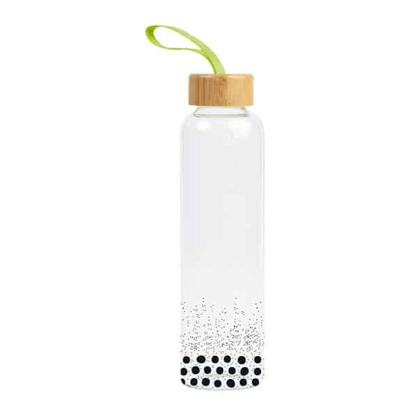Glas-Trinkflasche GYM GIN