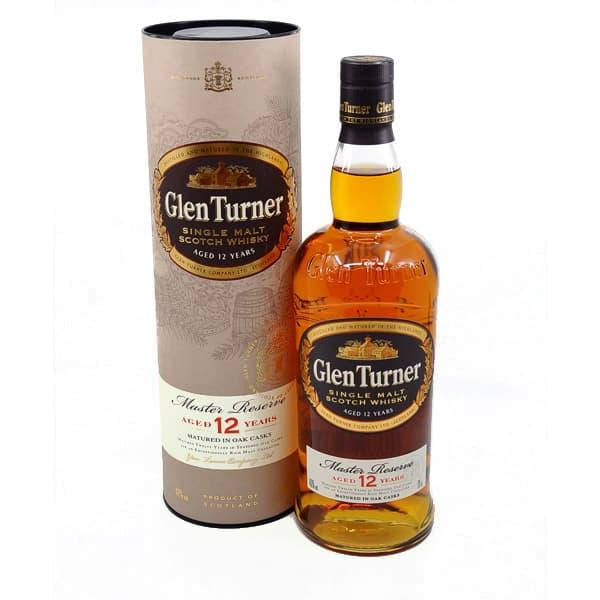 Glen Turner 12y Master Reserve + GB 40% Vol. 0,7l