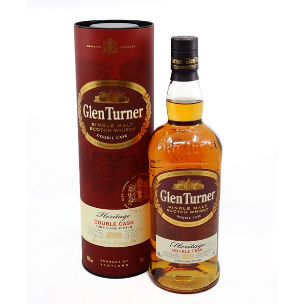 Glen Turner Heritage Double Cask + GB 40% Vol. 0,7l