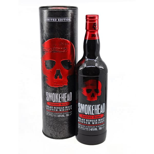 Smokehead SHERRY BOMB + GB 48% Vol. 0,7l