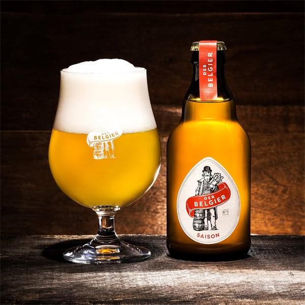 Saison DER BELGIER 5,9% Vol. 0,33l Bier Beer