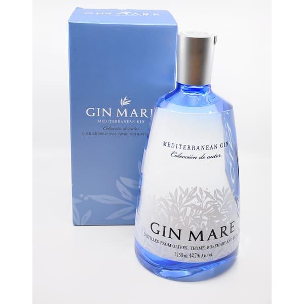 Gin Mare Mediterranean Gin + GB 42,7% Vol. 1,75l