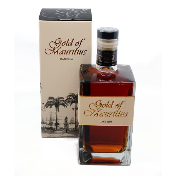 Gold of Mauritius Dark Rum + GB 40,0% Vol. 0,7l
