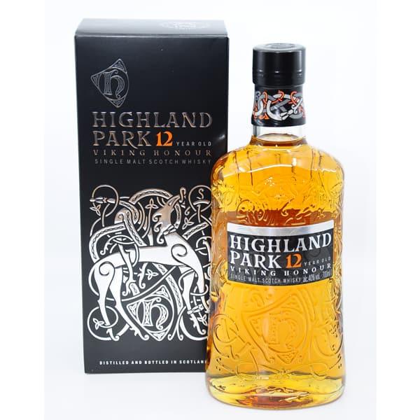 Highland Park 12y VIKING HONOUR + GB 40% Vol. 0,7l