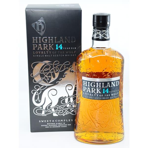 Highland Park 14y LOYALTY OF THE WOLF + GB 42,3% Vol. 1,0l
