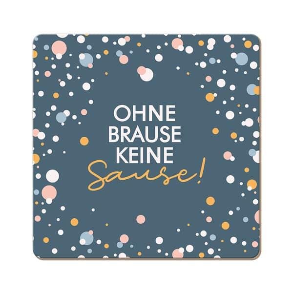Korkuntersetzer OHNE BRAUSE