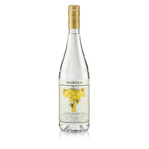 Marolo Grappa di Moscato + GB 42% Vol. 0,7l Grappa Distilleria Santa Teresa