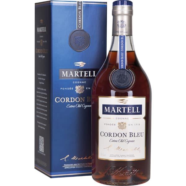 Martell Cordon Bleu + GB 40% Vol. 0,7l