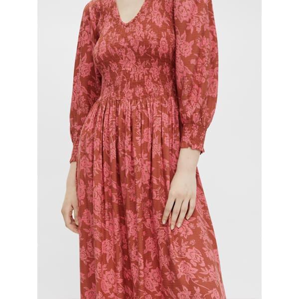 Y.A.S. Maxikleid mit floralem Muster Kleider Kleid