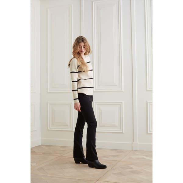 YAYA Maritimer Pullover mit Streifen Pullover/Strickjacken Pullover