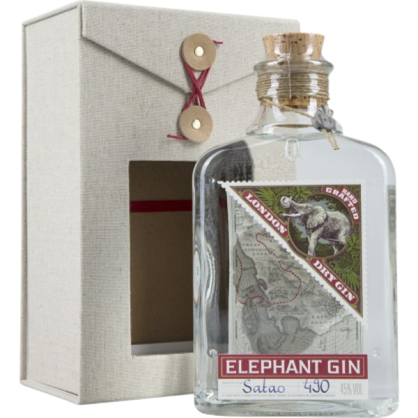 Elephant London Dry Gin + GB 45% Vol. 0,5l