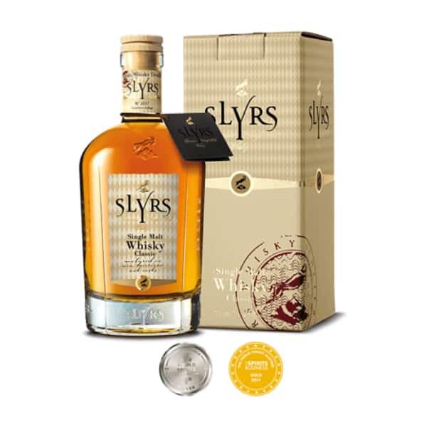 SLYRS Single Malt Classic + GB 43% Vol. 0,7l