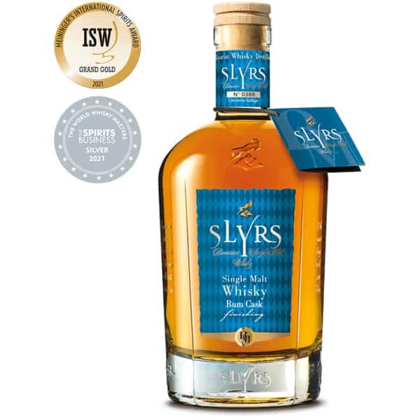 SLYRS Single Malt Rum Cask Finish 46% Vol.