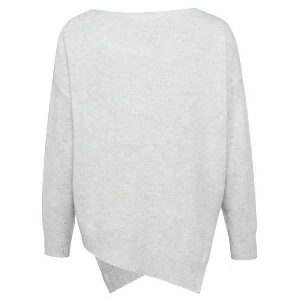 YAYA Pullover mit asymmetrischem Saum Pullover/Strickjacken Pullover