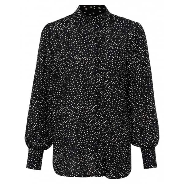 YAYA Bluse mit Polka-Dots