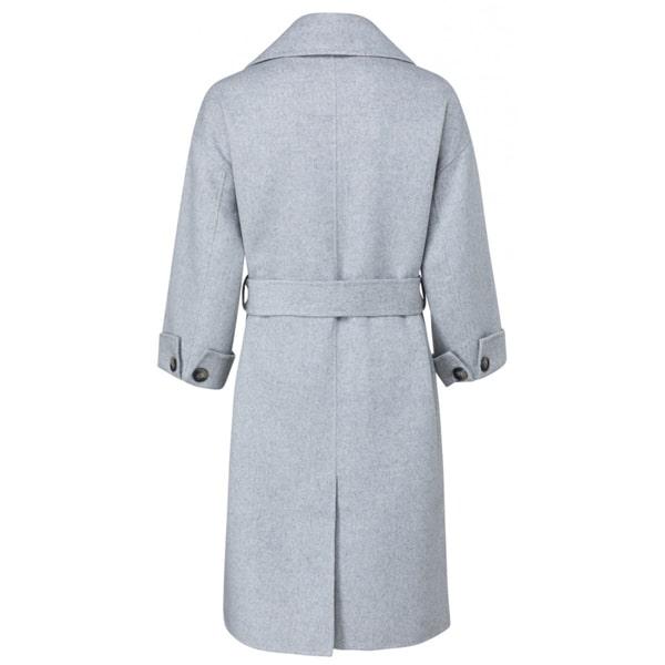 YAYA Langer Mantel aus Wollmix Jacken & Mäntel Mantel